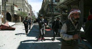 المعارضة السورية تتوصل إلى اتفاق لإجلاء مسلحين من حرستا في الغوطة الشرقية