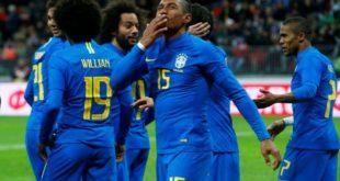 البرازيل تنهي تجربة روسيا بانتصار