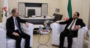 المبعوث الأممي الجديد يلتقي مسؤولين في هيئة التفاوض السورية