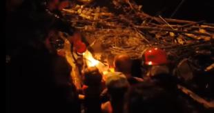 فيديو: قتيل وجريحان جراء انهيار جدار في اللاذقية