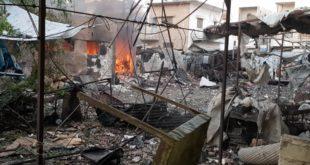 ضحايا بانفجار في الدانا.. واعتقالات في معرشورين