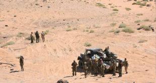 طائرات مجهولة تستهدف مواقع للميليشيات الإيرانية في دير الزور