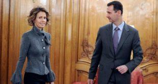 """""""بشار"""" وزوجته يستقبلان ذوي القتلى الروس في سوريا"""