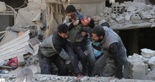 مقتل ١٠ مدنيين بقصف للنظام وروسيا على الغوطة الشرقية