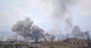 قصف عنيف من قوات الأسد على حي مخيم اليرموك