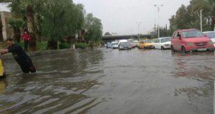 وفيات بين المدنيين جراء السيول في دمشق