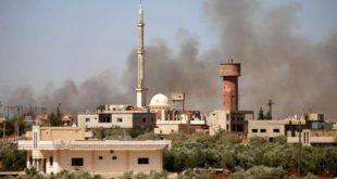 الطيران الروسي يعاود قصف درعا ويوقع ضحايا مدنيين