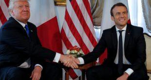 الرئيس الفرنسي: القوات الأمريكية باقية في سوريا.. والبيت الأبيض ينفي